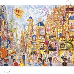 Mumbai Utopian City Urban Bag Art