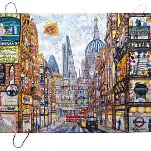 London Urban Bag Art Fleetstreet